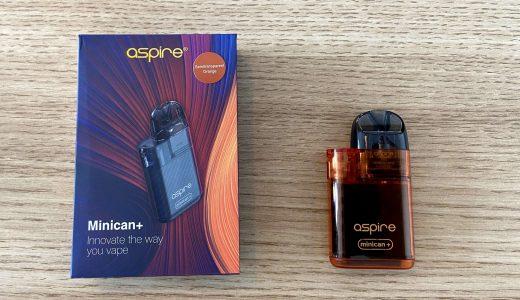 Aspire Minican+をガチレビュー!小型ながら爆煙を楽しめる優秀デバイス