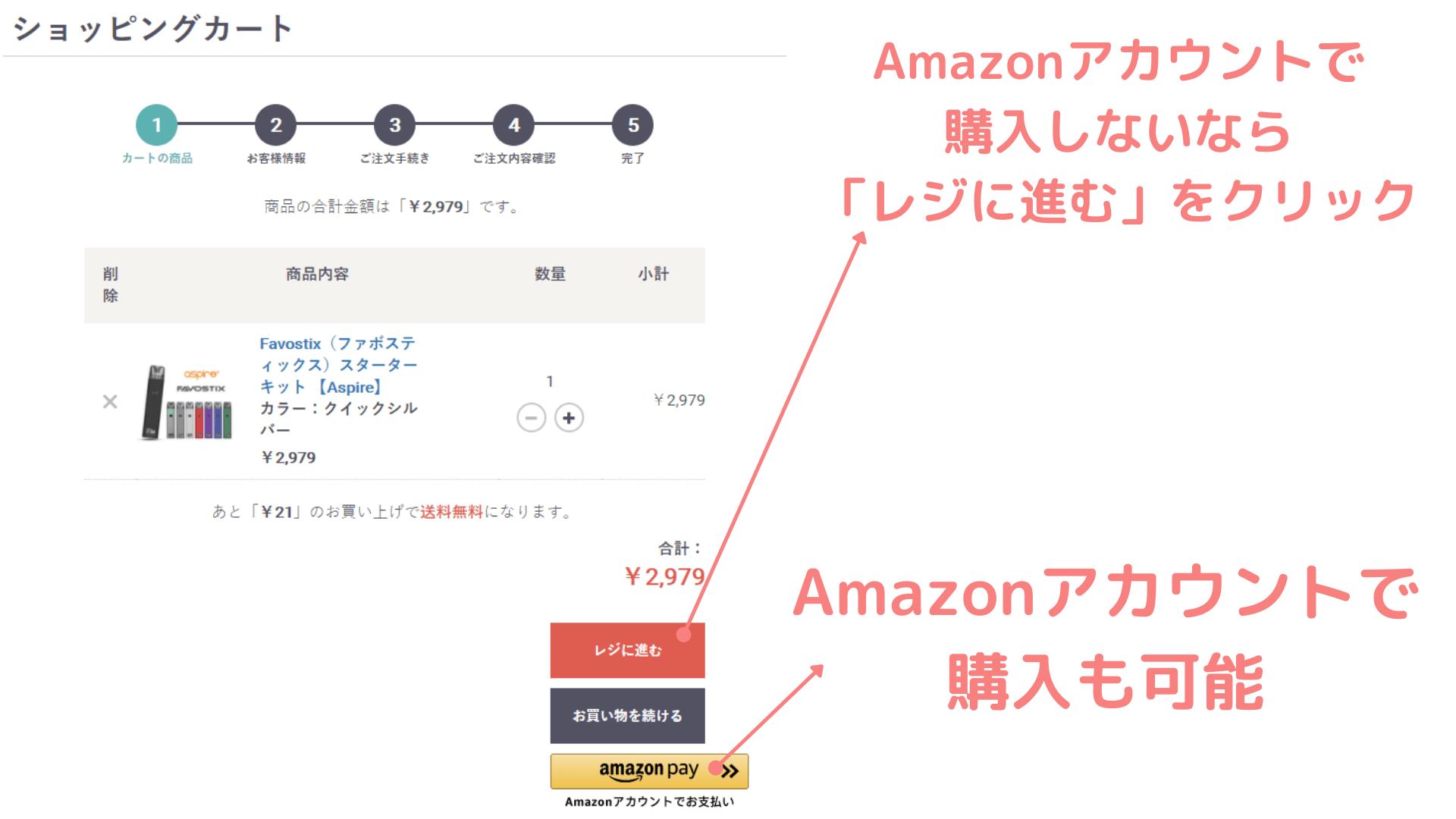 favostix「ファボスティックス」の購入手順の画像